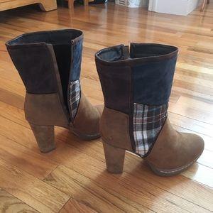 Muk Luks Plaid Boots